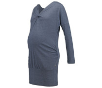 AVIE NURSING Strickkleid ombre blue melange