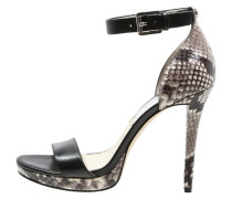 SIENNA High Heel Sandaletten black/natural
