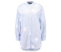 Hemdbluse light blue/white