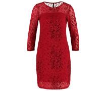 AULESTIA Jerseykleid red