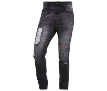 Jeans Tapered Fit washed black