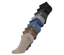 9 PACK Socken lax/light denim/black