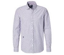 Tailored Fit Hemd hellblau