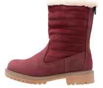 Snowboot / Winterstiefel red