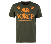 AIR FORCE TShirt print dark green