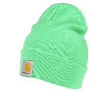 Mütze - limegreen