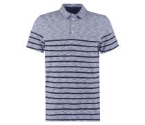 Poloshirt blue melange