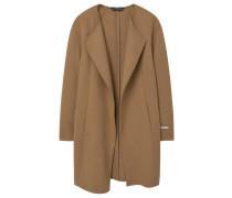 NARANJA Wollmantel / klassischer Mantel medium brown