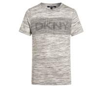 TShirt print gris chine
