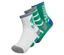 3 PACK Socken soccer green