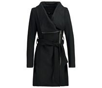 MIKA Wollmantel / klassischer Mantel black