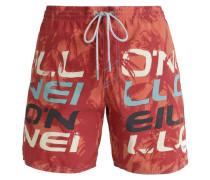STACK Badeshorts red