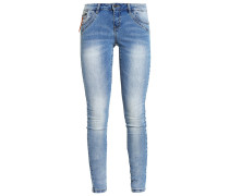 VMFIVE Jeans Slim Fit light blue denim