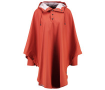 Regenjacke / wasserabweisende Jacke rust