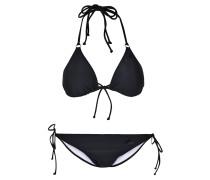 ESSENTIALS Bikini black/white