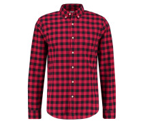 SLIM FIT Hemd holiday red