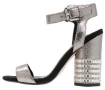 CASTLE High Heel Sandaletten metallic