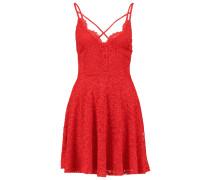 Freizeitkleid bright red