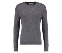 XMAS Strickpullover grey