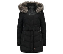 LUBECK - Wintermantel - black polyester