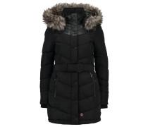 LUBECK Wintermantel black polyester