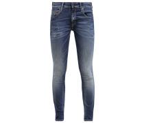 THE ROSA Jeans Slim Fit dirt blue repair