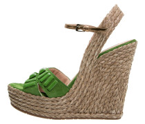 High Heel Sandaletten mint