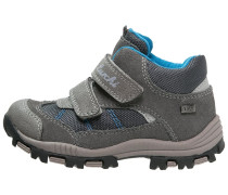 TEO Klettschuh grey/turquoise