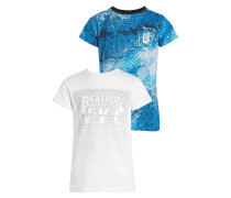 2 PACK - T-Shirt print - white