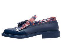 Slipper blue/orange