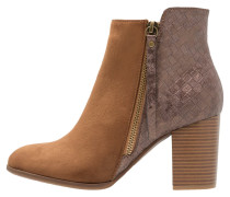 Ankle Boot - tobacco
