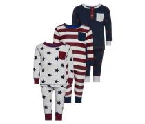 3 PACK Pyjama grey