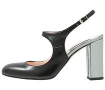 High Heel Pumps nero/acciaio