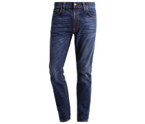 LEAN DEAN - Jeans Slim Fit - dark worn navy