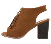 SAANA High Heel Sandaletten tan