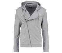Sweatjacke - mottled grey