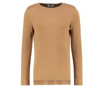 LONGLINE FIT - Strickpullover - dark brown