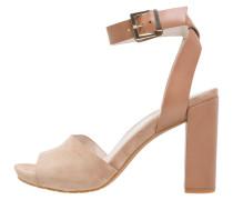 TOREN - High Heel Sandaletten - tan/multicolor