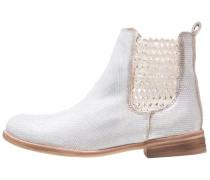 ALFA Stiefelette white/silver