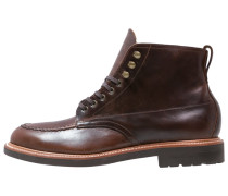 KENTON PACER Schnürstiefelette burnished tobacco