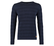 KELD Strickpullover navy/red