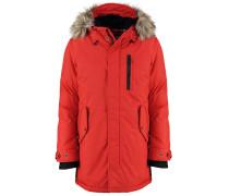 Wintermantel dark red