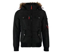POLAR BOMBER Winterjacke black