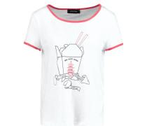 SAN CHOY - Nachtwäsche Shirt - white/red