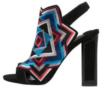 INDIA High Heel Sandaletten black/multicolor