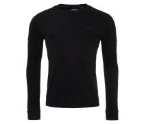 Langarmshirt black/black
