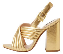 LYS - High Heel Sandaletten - gold-coloured