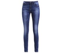VMSEVEN Jeans Slim Fit dark blue denim