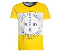 WAY - T-Shirt print - jaune