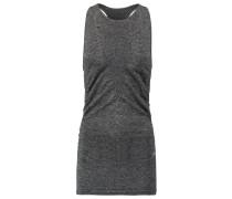 VISION Top dark grey melange/metallic